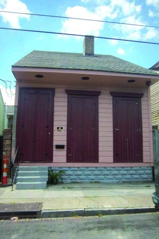 Residence of Jean Baptiste Roudanez at 1514 Dumaine Street, New Orleans