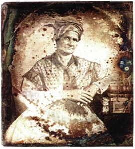 Aimée Potens c. 1844. Mother of Dr. LC Roudanez.