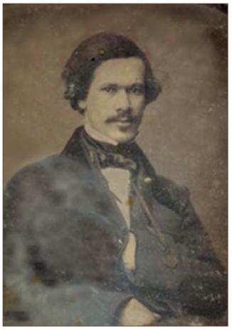 Dr. Louis Charles Roudanez, c. 1858