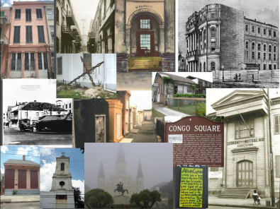Historic sites in the New Orleans Tribune History