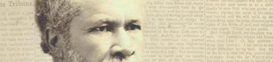 Dr. Louis Charles Roudanez, founder of the original New Orleans Tribune