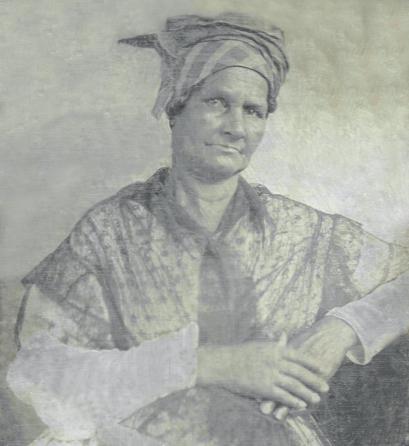 Aimée Potens c. 1844.